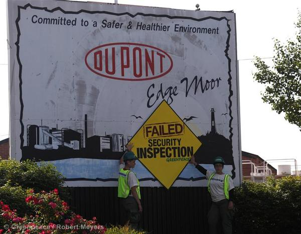 Toxics: Chemical Security Inspection Failure